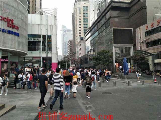 人民广场 香港名店街 独立店 繁华地段 旺铺招租