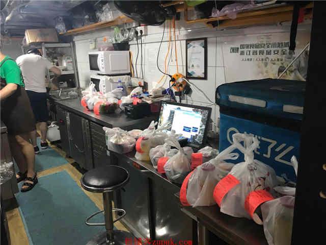 湖滨商圈龙翔桥20平米可明火外卖商铺出租(无转让费)