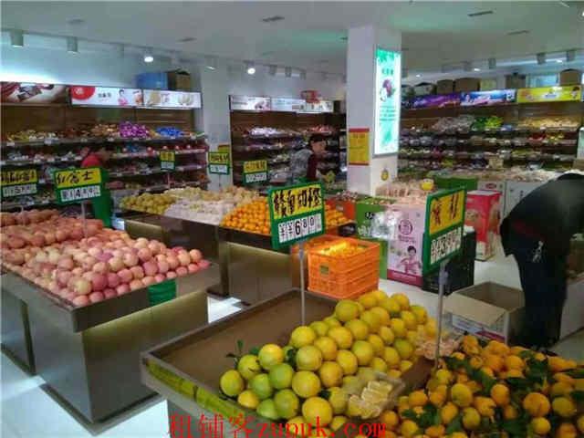 营业额7000+五一新村农贸市场130平水果店转让(可空转)