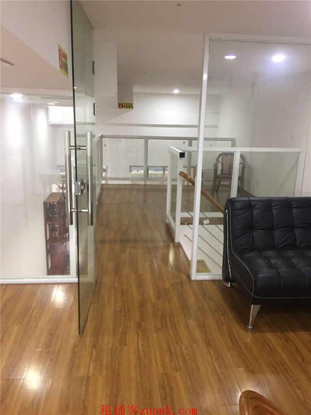 园区双湖广场5楼精装复式办公室出租可注册公司