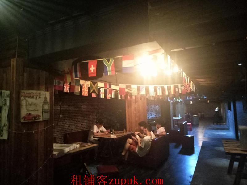 富水北路临街盈利酒吧转让