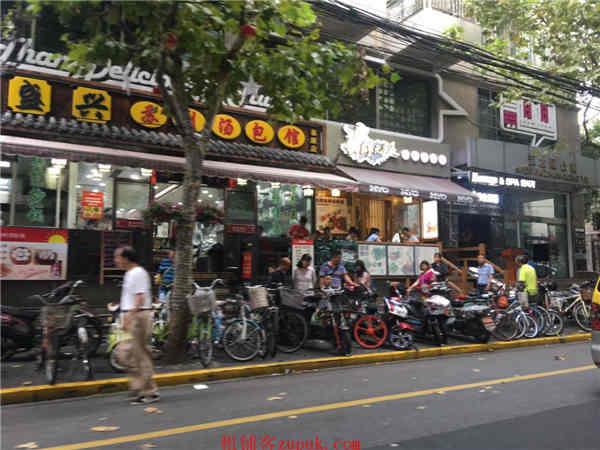 虹口四平路沿街一楼餐饮旺铺 临近地铁 大房东直租