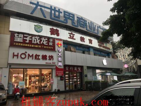 大世界商业广场3楼1155平招租
