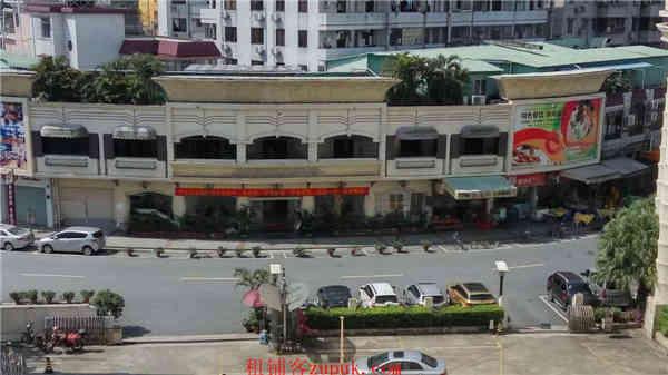 番禺市桥 侨城中学1千方临街商铺 欢迎培训机构进驻