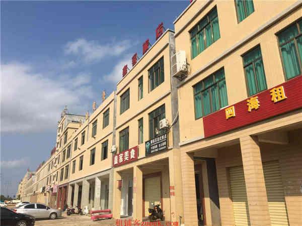 桂林洋海经院大门口精装修300m2临街铺面