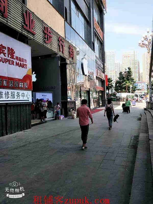 花果园一期17栋商业步行街旺铺转让