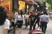 南京西路沿街旺铺出租重餐饮执照双开间临近地跌口