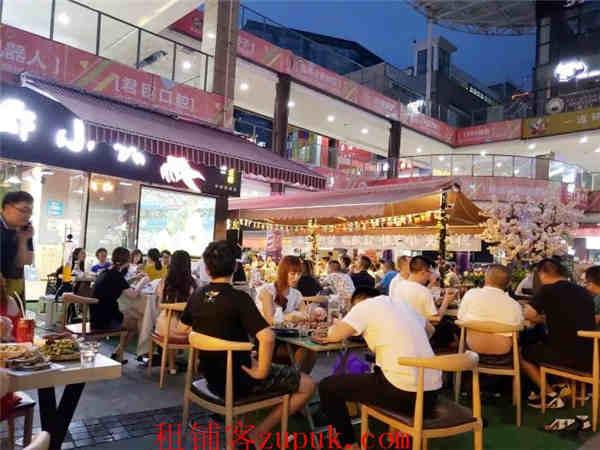 中坝地铁口+超大外摆 盈利餐饮店转让(带天然气)