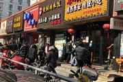 普陀武宁路重餐饮旺铺 沿街一楼 居民集中 无转让费