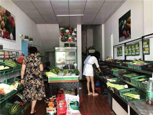 入住率100%小区门口35㎡水果超市转让(可空转)