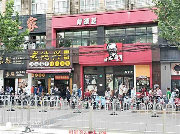 静安海宁路沿街十字路口精装修餐饮旺铺 大房东直租