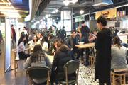 杨浦五角场百联商城一楼独立奶茶铺位 无费用火爆招商
