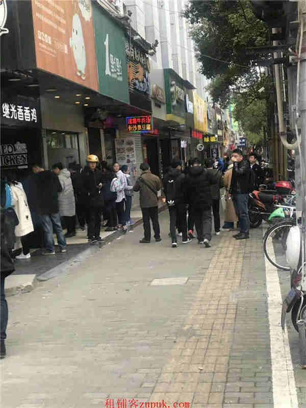 宝山沿街门面 落地玻璃展示 炒菜火锅龙虾客流超大