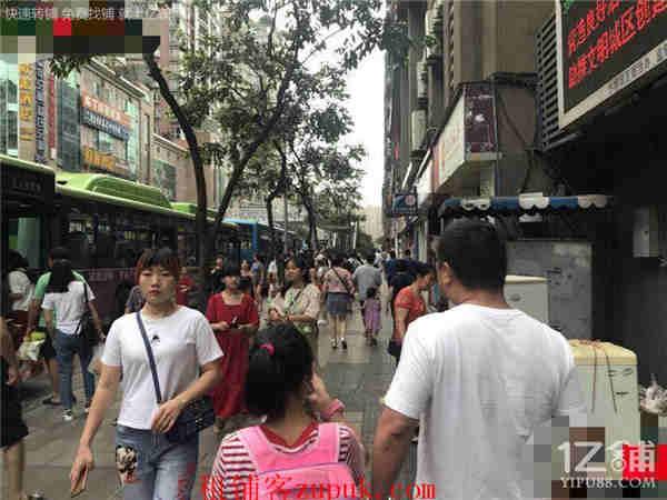 步行街公交车站21m2小吃店低价急转