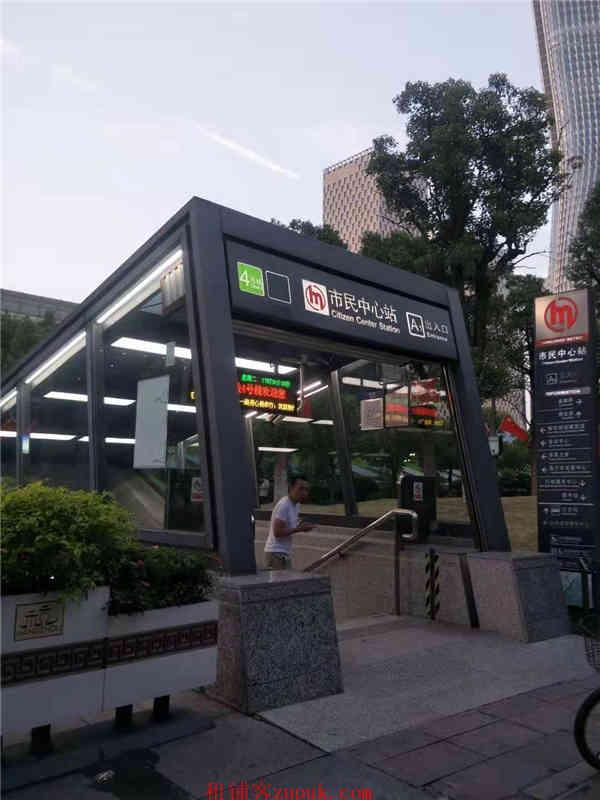 江干区甲级写字楼配套 餐饮美食旺铺招租 紧邻地铁