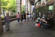 长寿路餐饮一条街 80平带外摆 客流量集中 消费高