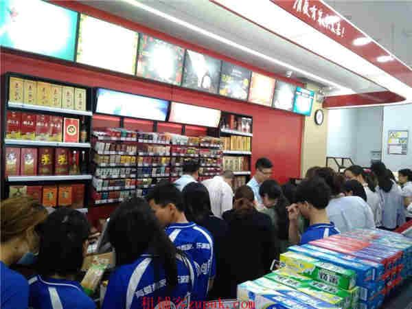 横岗1500户成熟小区出入口店铺,便利店竞争小