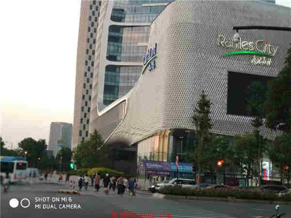 江干区钱江新城核心成熟商圈沿街美食档口 办公配套