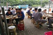 李家沱高端小区临街快餐店