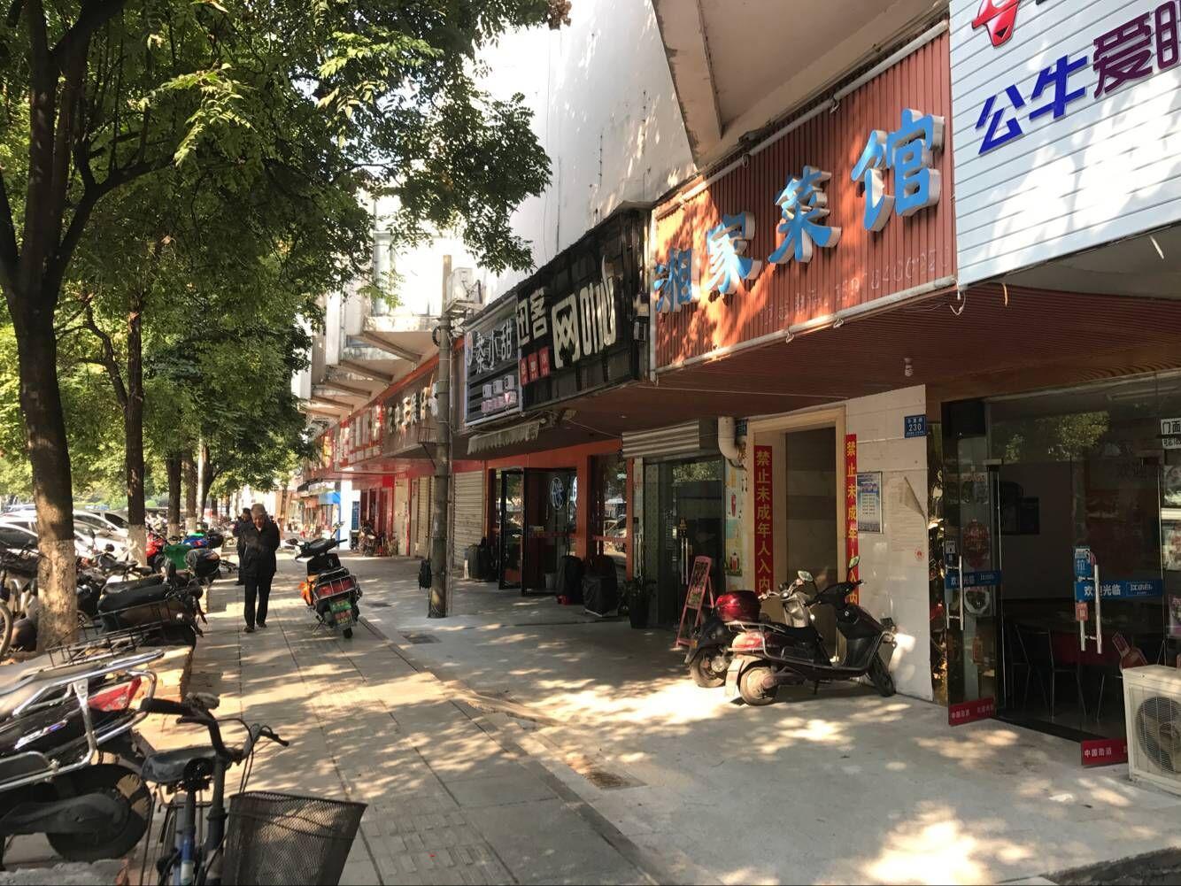 开福寺华夏路200㎡家常菜馆临街餐饮店转让