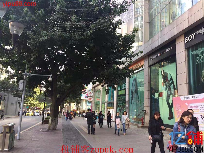 渝中区解放碑55平餐饮门面转让
