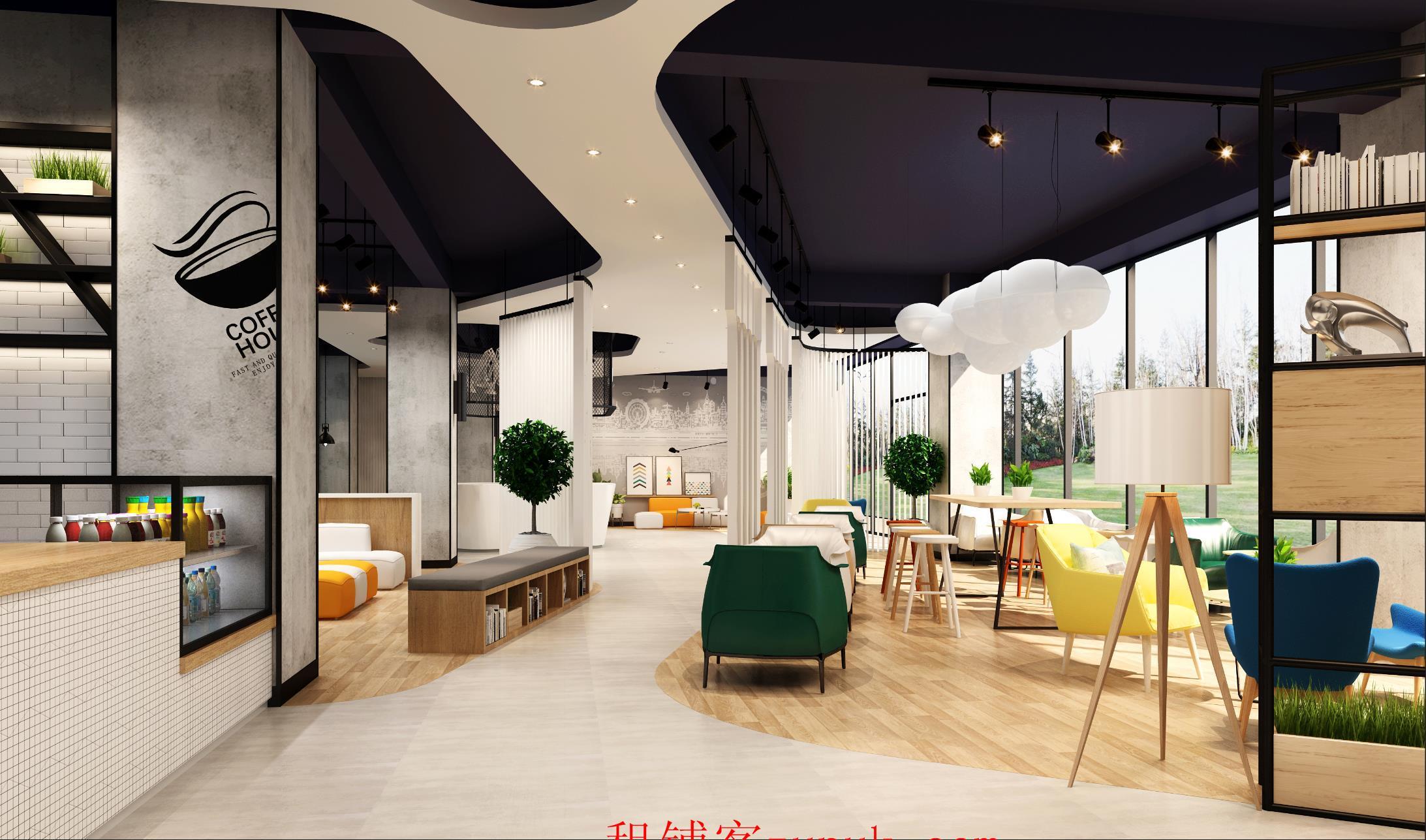 派米雷底楼商铺出租 园区配套13万方办公公寓