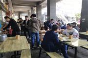 青羊中坝D口 鹏瑞丽广场 快餐面馆转让