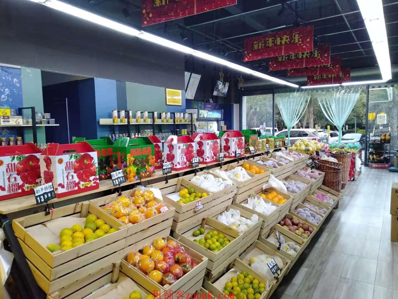 双门头生鲜超市自带冷库转让可餐饮