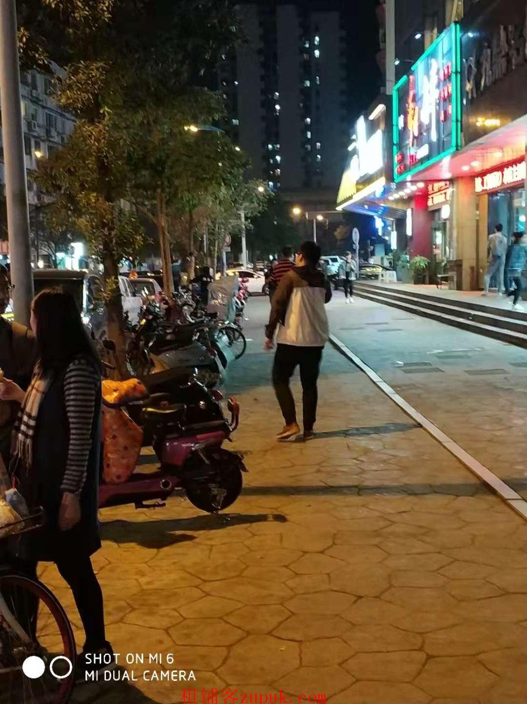 临平北大街步行街沿街美食档口 超火爆人流 执照齐全