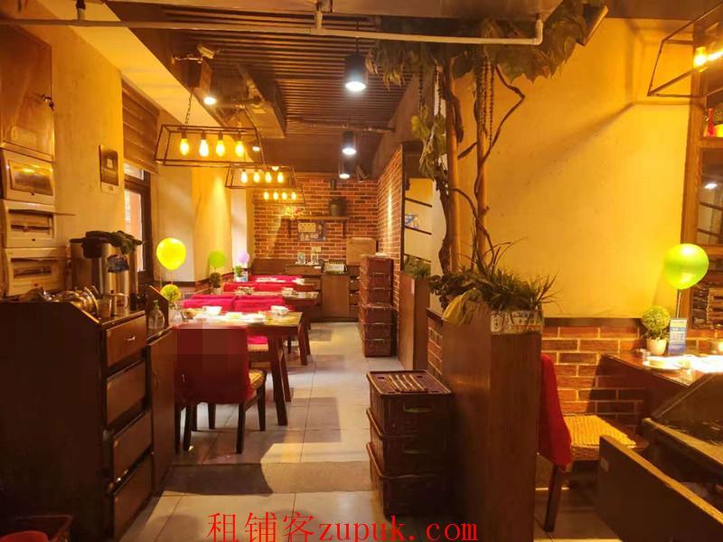 可空转!众多成熟老小区事业单位420㎡临街餐饮店转让/转租(带停车场)