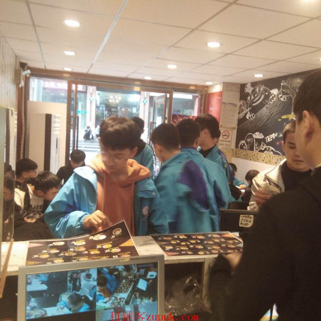 三峡广场精品烘焙+饮品店旺铺低价转让