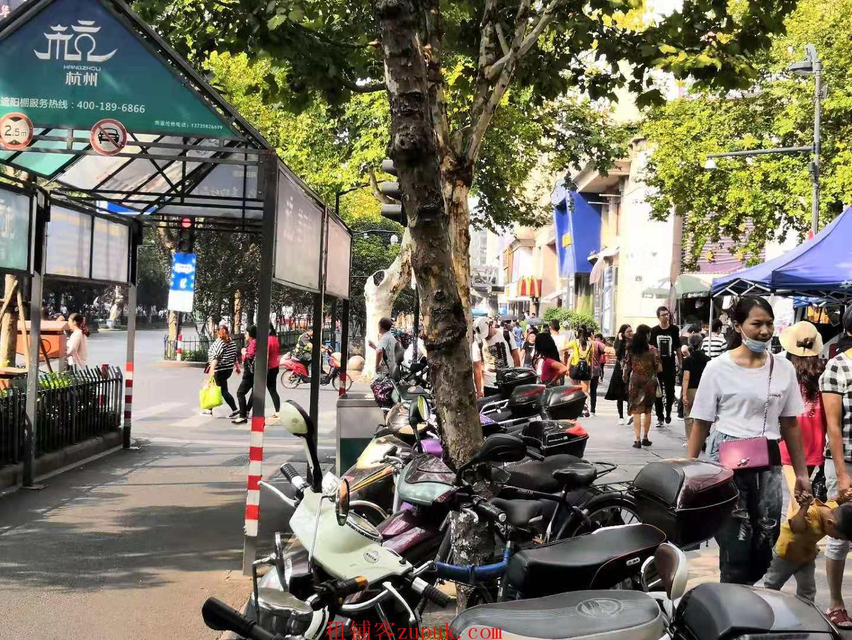 上城区火车站旁边沿街一层旺铺招租,业态不限