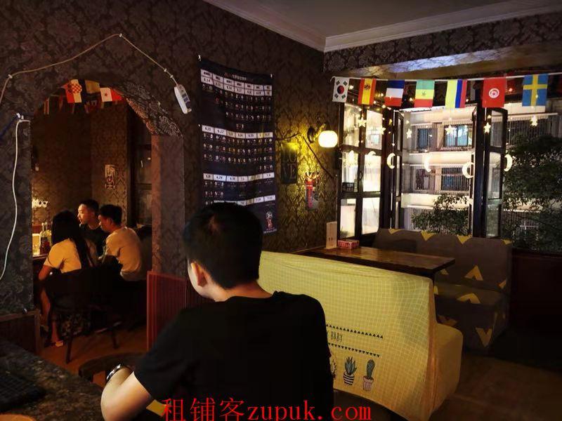 5.2万急转黔灵东路113平盈利酒吧