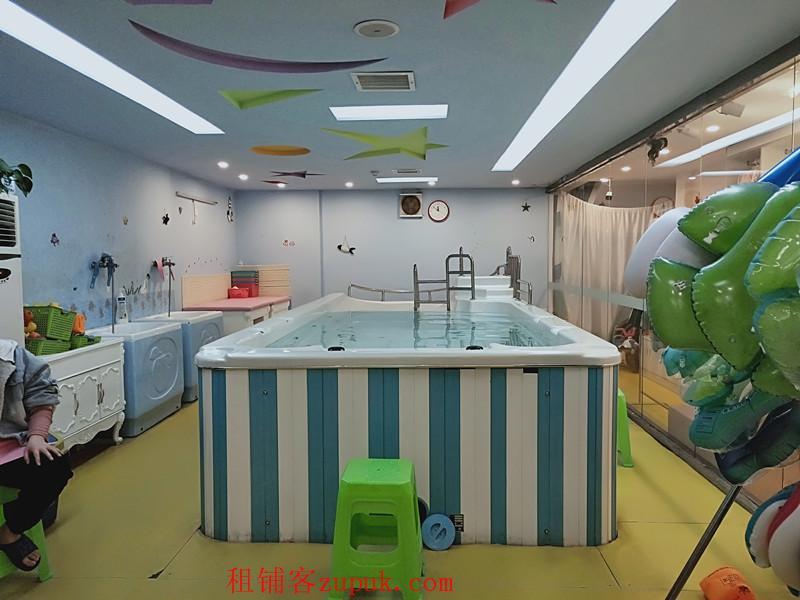 会员上百个的盈利婴幼儿游泳馆生意转让