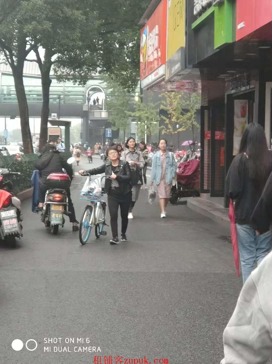 上城区湖滨商圈沿街十字路口餐饮旺铺 执照齐全客流大