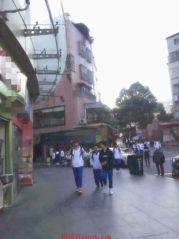 学校门口旺铺,三叉路,是村和小区出入口