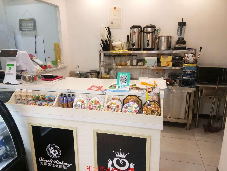 品牌蛋糕店渝北鸳鸯商业街临街旺铺
