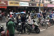 青浦餐饮小吃旺铺 租金便宜 十字路口位置好水电煤全
