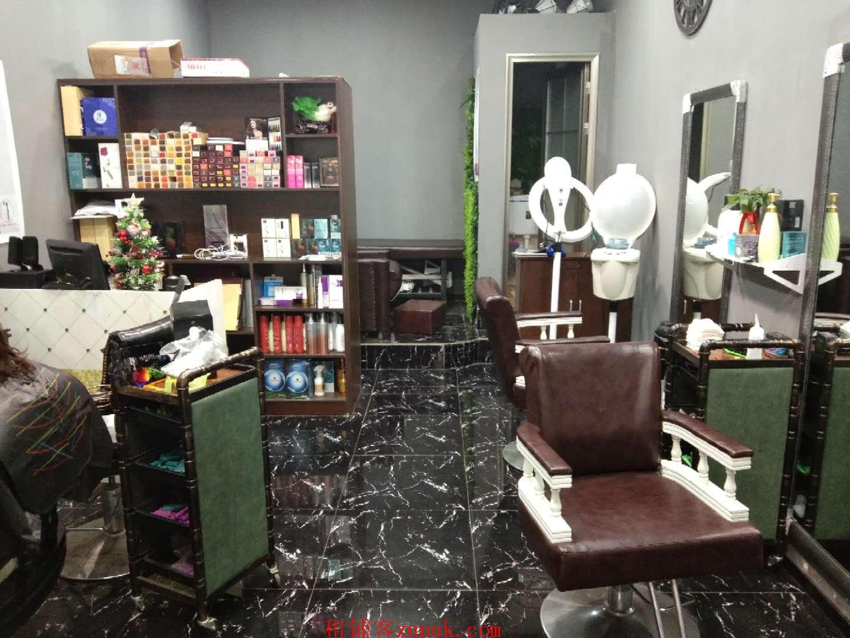 多个成熟小区旁,陈家坪商业街盈利中美发店