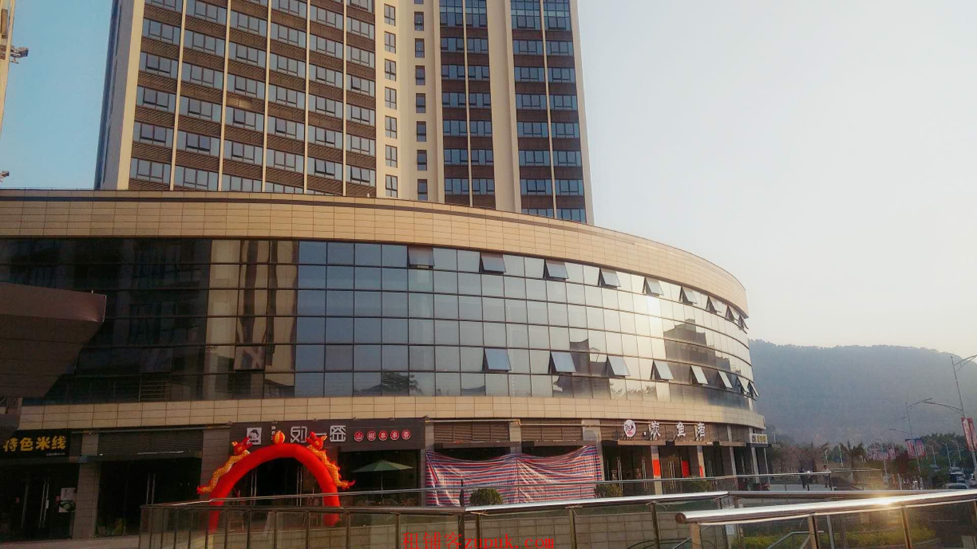 黄阁麒麟广场旺铺招商36-500㎡