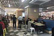 虹桥火车站商圈招快餐、蒸菜、面馆各类小吃,水电煤齐