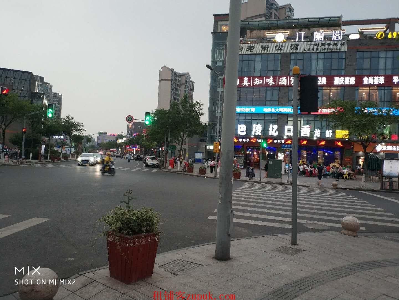 宝山淞南白玉兰广场对面,澪售餐饮直租,面积大小都有
