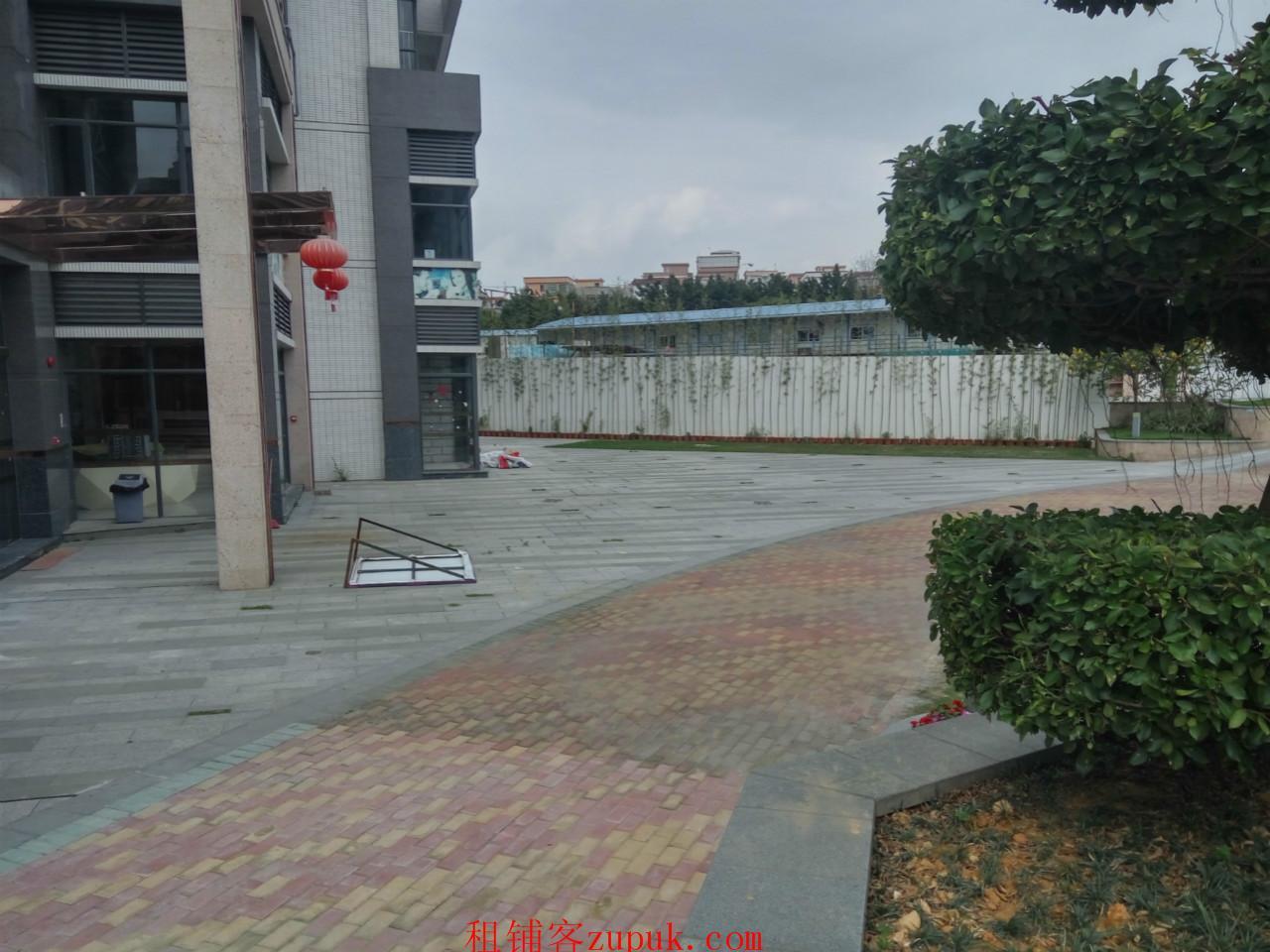 番禺市桥儿童公园旁小区250方临街商铺出租 诚邀早教机构进驻