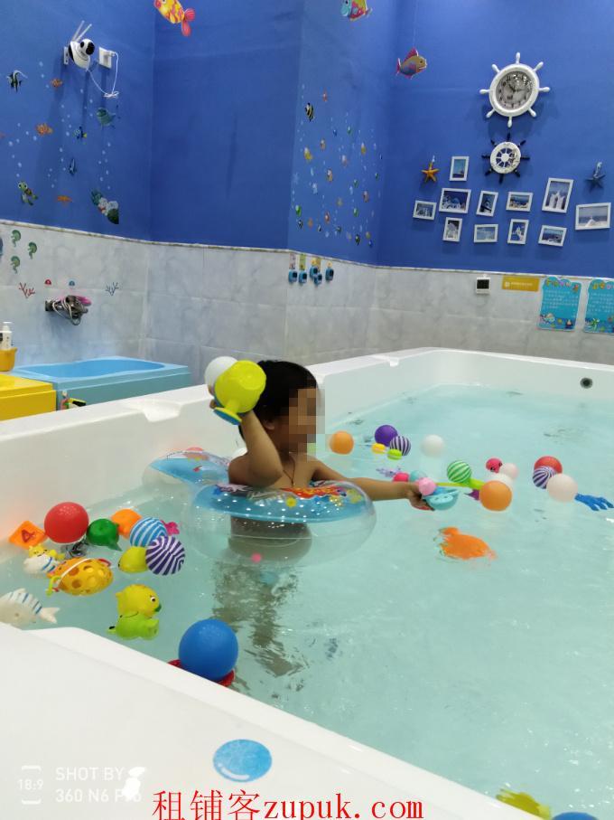 高档小区精装婴儿游泳馆急转