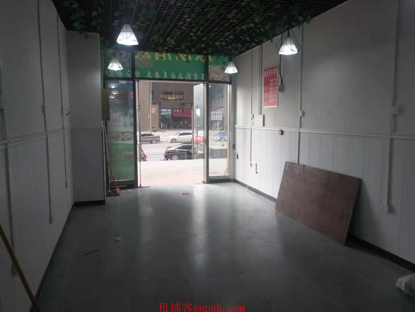 花果园s2区6栋后两间临街门面出租