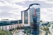 水东路希尔顿酒店五楼1800平写字楼招租