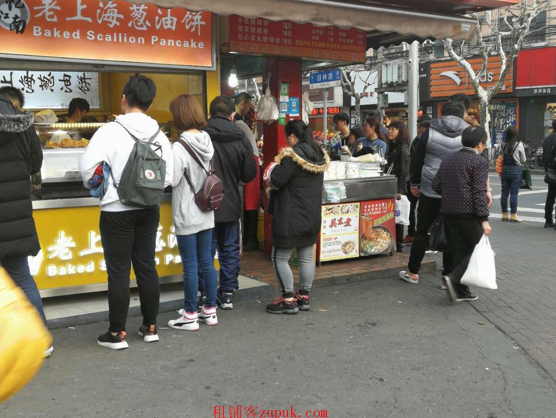 闵行莘朱路沿街重餐饮,55平纯一楼,业态不限