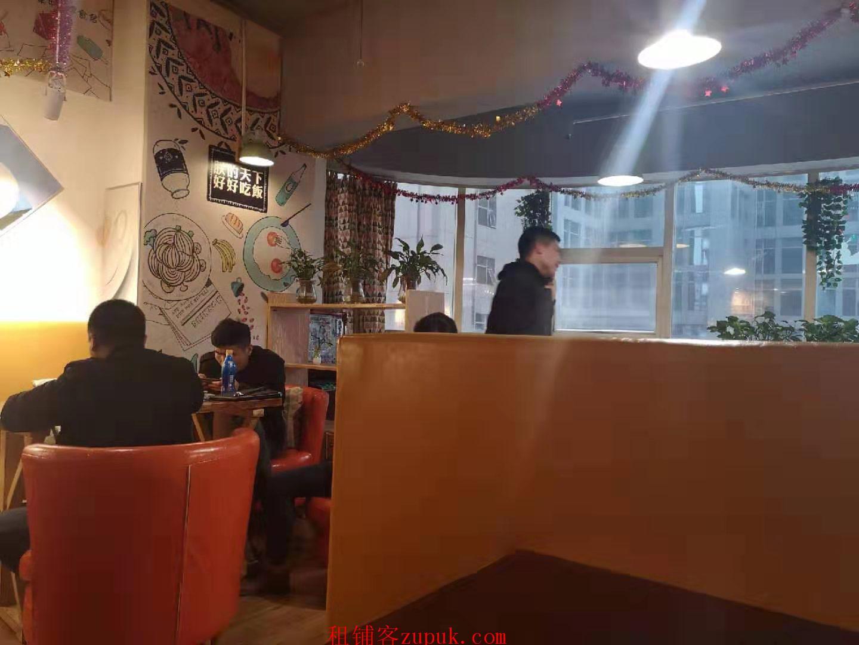 市中心写字楼内独家132㎡餐饮+超市【6万】急转