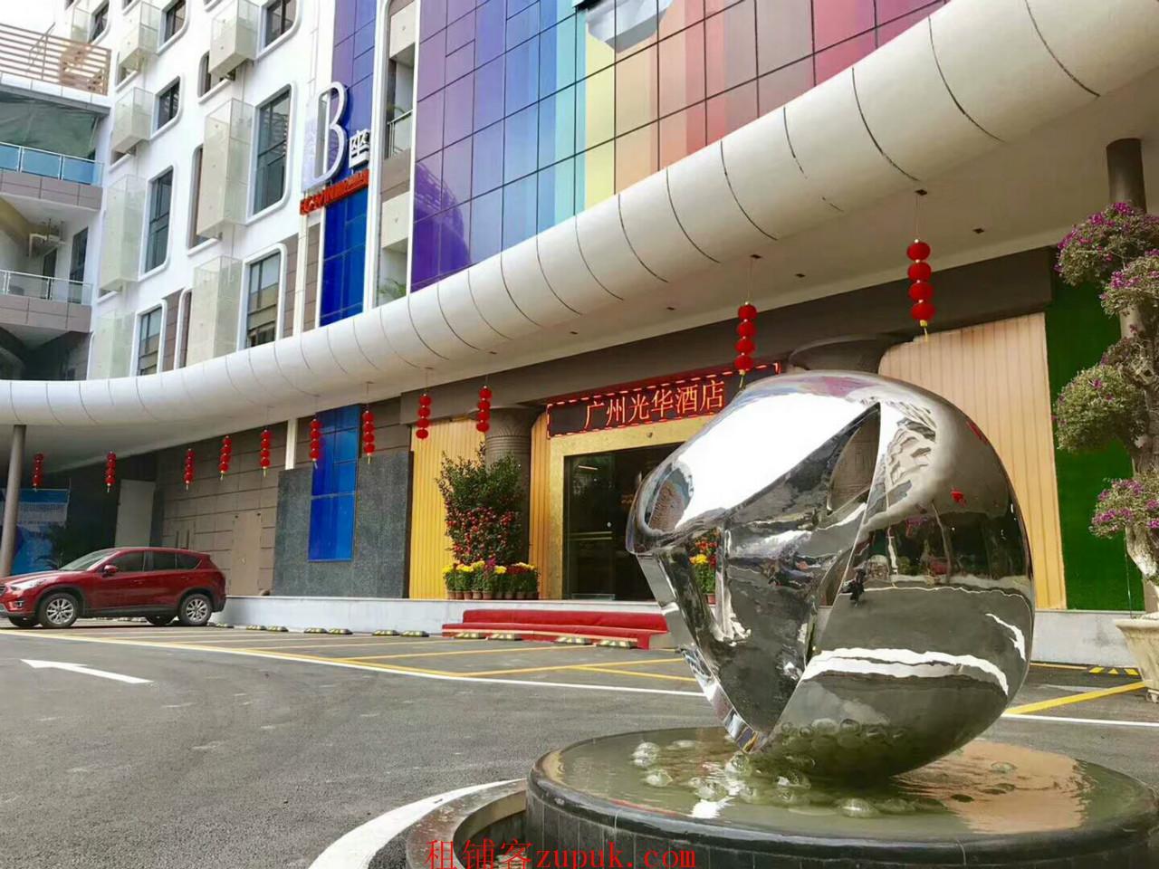番禺广场 用完梦乐城旁1千方临街商铺出租 诚邀中西餐饮进驻