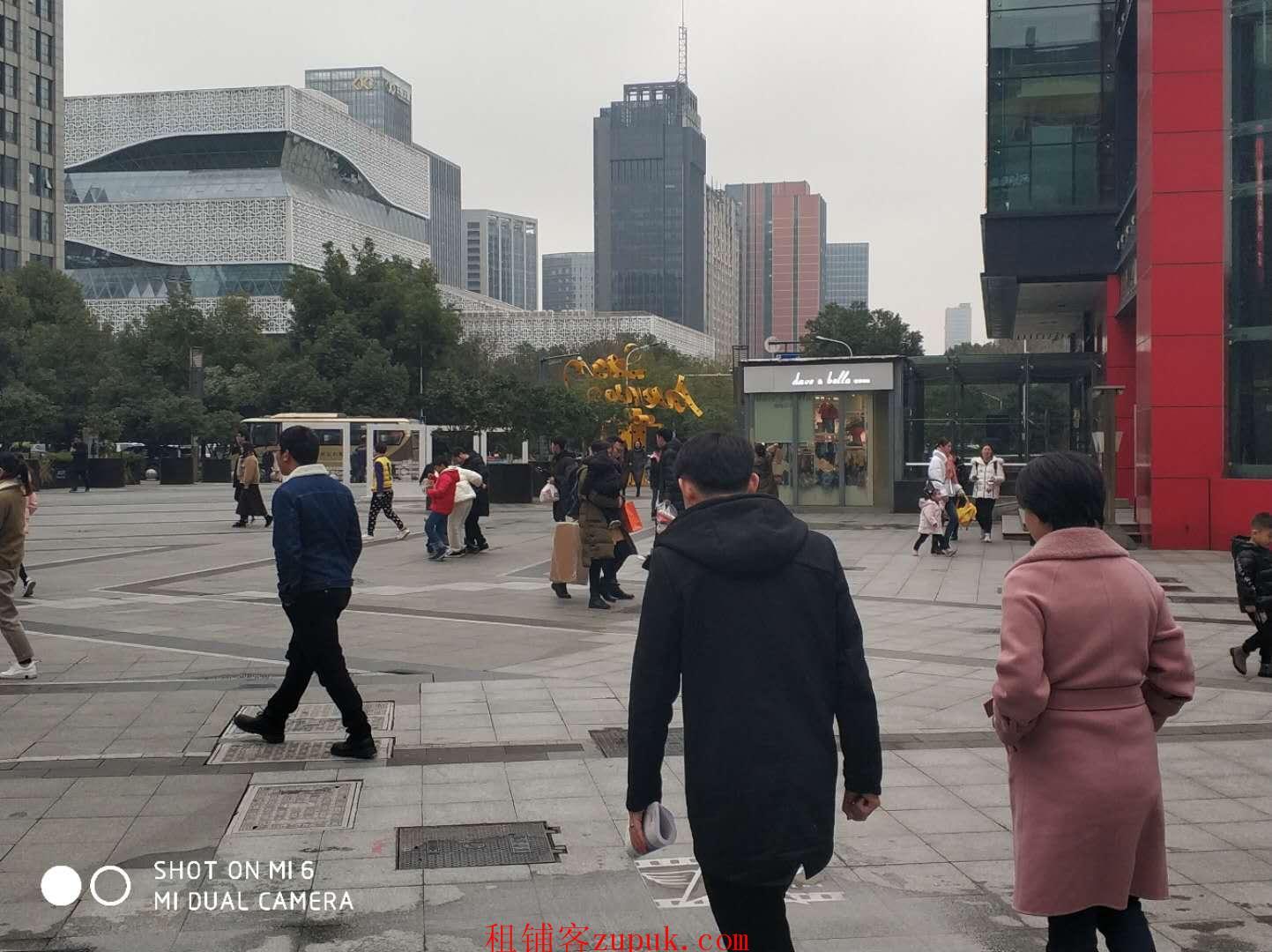 滨江区政府星光大道核心商圈600平重餐饮旺铺出租